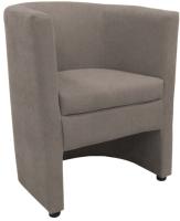 Кресло мягкое Lama мебель Рико (Bahama ASH) -