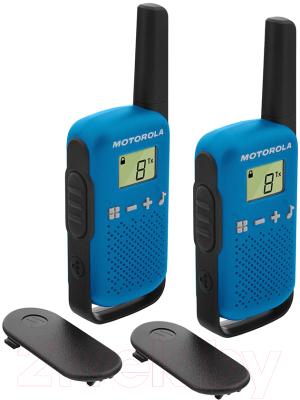 Комплект раций Motorola Talkabout T42 (синий)