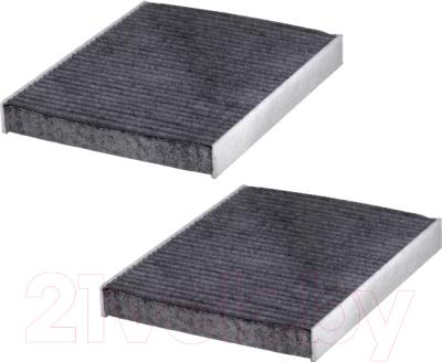 Салонный фильтр Hengst E2978LC-2 (угольный, комплект)