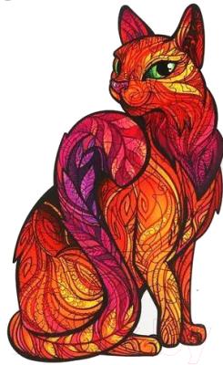 Пазл Puzzle Таинственная кошка / 4276177