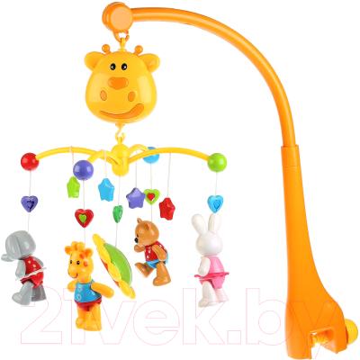 Мобиль на кроватку Жирафики Жирафик и друзья / 4520063