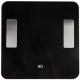 Напольные весы электронные BQ BS2011S  (черный) -