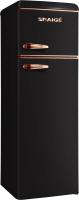 Холодильник с морозильником Snaige FR27SM-PRJC0F -