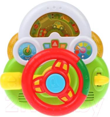 Развивающая игрушка Наша игрушка Руль Умный Я / ZYE-E0293