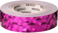 Обмотка для гимнастического снаряда Indigo 3D Bubble IN155 (фуксия) -
