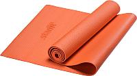 Коврик для йоги и фитнеса Starfit FM-101 PVC (173x61x0.4см, оранжевый) -