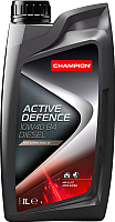 Моторное масло Champion Active Defence B4 Diesel 10W40 / 8203817 (1л) -