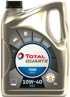 Моторное масло Total Quartz Energy 7000 10W40 201536/214113 (4л) -