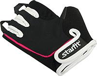 Перчатки для фитнеса Starfit SU-111 (M, черный/белый/розовый) -