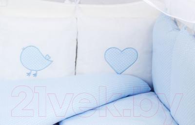 Комплект постельный в кроватку Amarobaby Premium Кроха