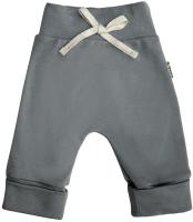 Штаны для младенцев Amarobaby Nature / AB-OD21-NG6/10-80 (серый, р-р 80-86) -