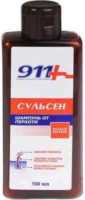 Шампунь для волос 911 Ваша служба спасения Сульсен 1%
