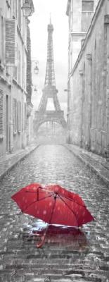 Фотообои листовые Citydecor Красный зонт