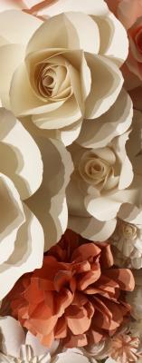 Фотообои листовые Citydecor Цветы 3D
