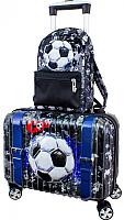Чемодан на колесах DeLune Lune-004 + рюкзак -