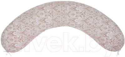 Подушка для беременных Amarobaby Дамаск / AMARO-4001-DK