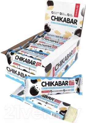 Протеиновые батончики Chikalab Хрустящее печенье
