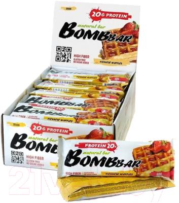 Протеиновые батончики Bombbar Венские вафли