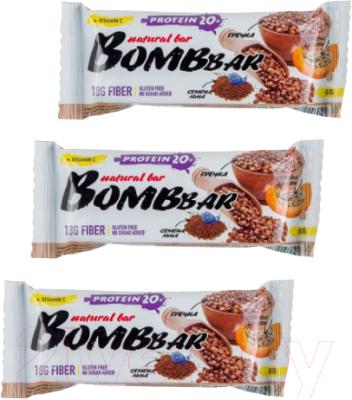 Протеиновые батончики Bombbar Гречишные