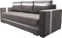 Диван Lama мебель Пингвин-3ТП (Vital Cocoa/Teos Milk) -