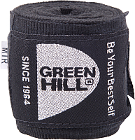 Боксерские бинты Green Hill BP-6232c (черный) -