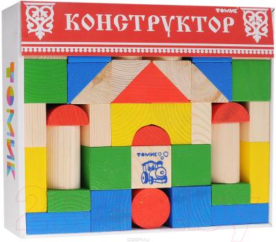Конструктор Томик Цветной / 6678-43