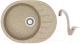 Мойка кухонная Berge BR-5801 + смеситель GR-4003 (песочный/классик) -
