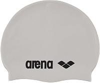 Шапочка для плавания ARENA Classic Silicone Cap 91662 15 (White/Back) -