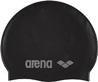 Шапочка для плавания ARENA Classic Silicone JR 91670 55 (Black/Silver) -