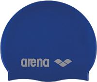 Шапочка для плавания ARENA Classic Silicone JR 91670 77 (Sky blue/White) -