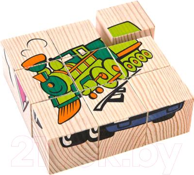 Развивающая игрушка Томик Кубики. Транспорт 4444-1