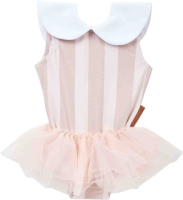 Купальник детский Happy Baby 50617 (розовый, р.104-110) -