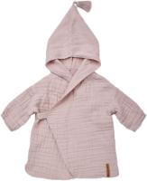 Халат пляжный детский Happy Baby 50620 (розовый, р.80-92) -