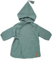 Халат пляжный детский Happy Baby 50620 (зеленый, р.80-92) -