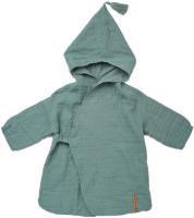 Халат пляжный детский Happy Baby 50620 (зеленый, р.98-110) -