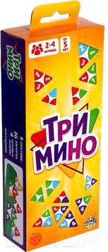 Фото - Настольная игра Лас Играс Тримино / 5115423 настольная игра лас играс ква шарики