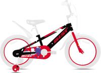 Детский велосипед AIST Pluto 2021 (18, черный/красный) -