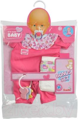 Аксессуар для куклы Simba Одежда и памперс / 10 5401631