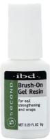 Клей для накладных ногтей IBD Brush-On Gel Resin на основе смолы с кисточкой (6г) -