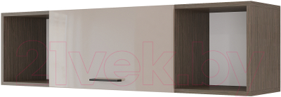 Шкаф навесной Горизонт Мебель Ненси 1200