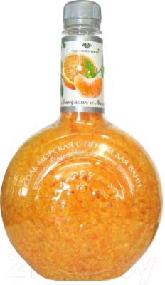 Соль для ванны Фруктовое ассорти, Оранжевый, Мандарин и мелисса
