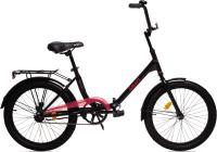 Детский велосипед AIST Smart 20 1.1 2021 (20, черный/красный) -