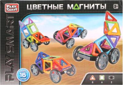 Конструктор магнитный Наша игрушка 2426 конструктор shantou gepai наша игрушка 3d магнитный 52 детали 703 631105