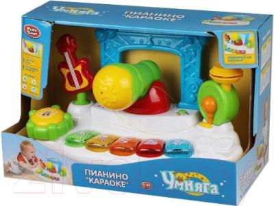 Развивающая игрушка Наша игрушка Караоке, стихи, песни, звуки животных / 7507