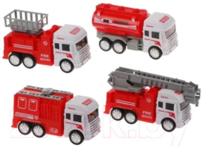 Набор игрушечной техники Наша игрушка Пожарный / BHX699-17A