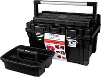 Ящик для инструментов Patrol HD Trophy 1 (черный, 595x345x355) -