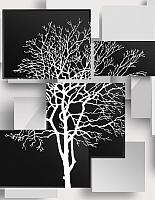 Фотообои Citydecor Дерево инь-янь 3D (200x254) -