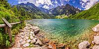 Фотообои Citydecor Озеро в горах (300x150) -