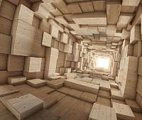 Фотообои Citydecor Тоннель 3D (300x254) -