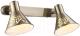 Спот Arte Lamp Cono Bronze A5218AP-2AB -